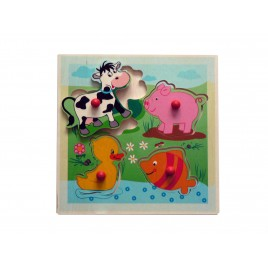 Hess Griffpuzzle Tiere 4 teilig