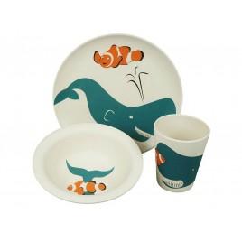 Zuperzozial Lunchset Walvis