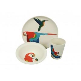 Zuperzozial Lunchset Papegaai