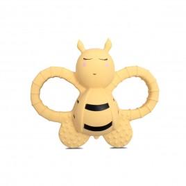 Filibabba Bella the bee rubber pale banana
