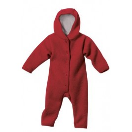 Disana Bordeaux Boiled Wool Overall Bordeaux