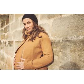 Mamalila Eco Wool Babywearing Coat Oslo camel