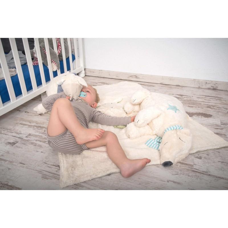 Pat en Patty Kuschelkissen Eisbär Wit