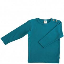 Leela Cotton Langarmshirt  ozeanblau