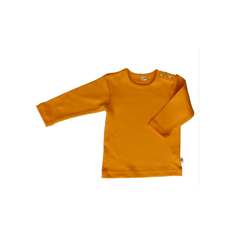 Leela Cotton Langarmshirt Gelb