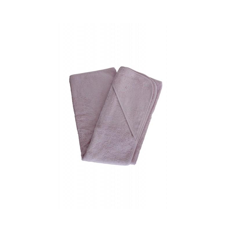 Leela Cotton Baby-Handtuch 1 x1 Rosa
