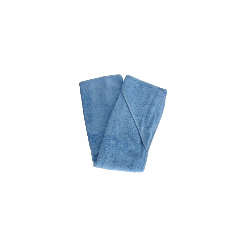 Leela Cotton Baby-Handtuch 1 x1 Hellblau