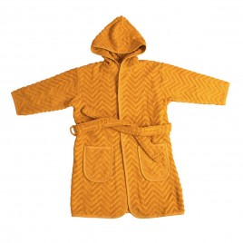 Filibabba Bathrobe Golden Mustard