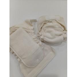 Popolini Newborn MiniFit Frottee Organic GOTS écru