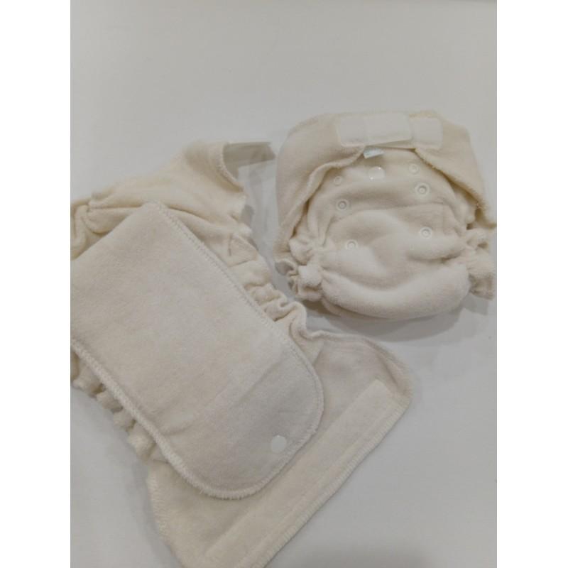 Popolini Newborn MiniFit Soft écru