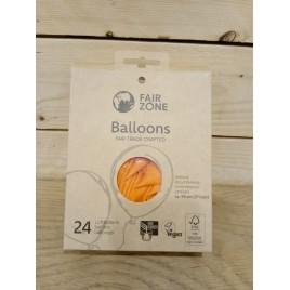 Fairzone Ballonnen 24 st. orange