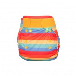 Totsbots PeeNut Wrap Rainbow Stripe