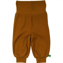 Green Cotton Alfa pants baby caramel