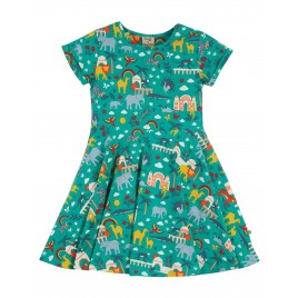 Frugi Spring Skater Dress Jewel India