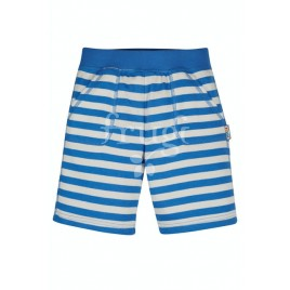 Frugi Favourite Shorts Cobalt Blue Stripe