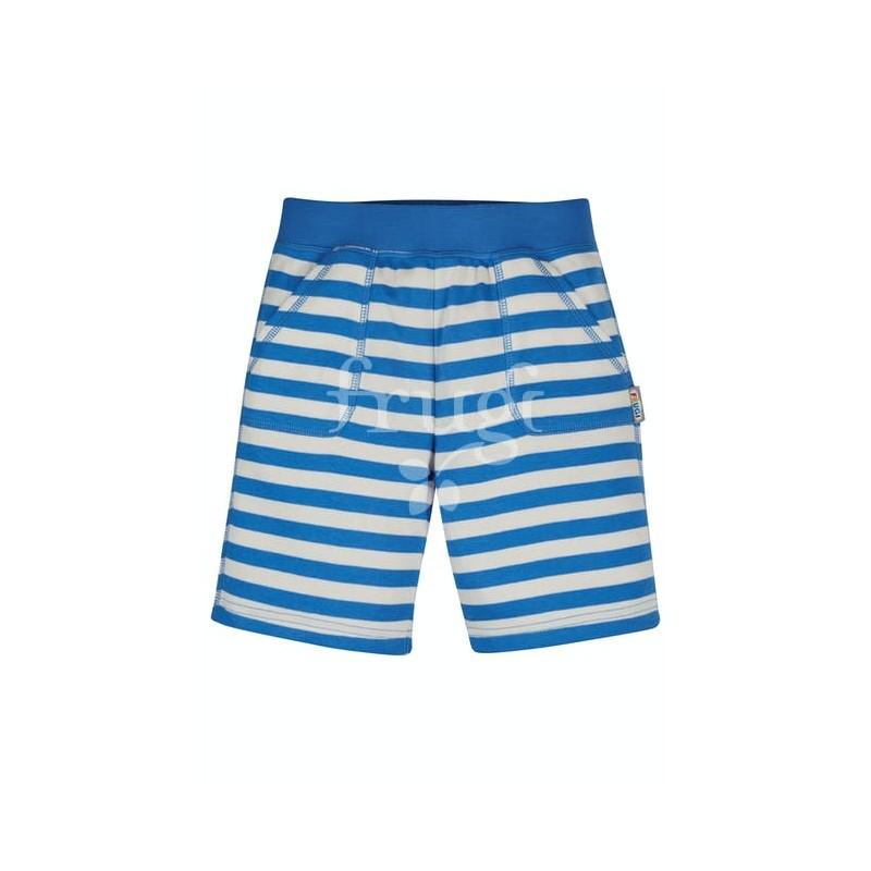 Frugi Favourite Shorts Cobalt Blue Stripe