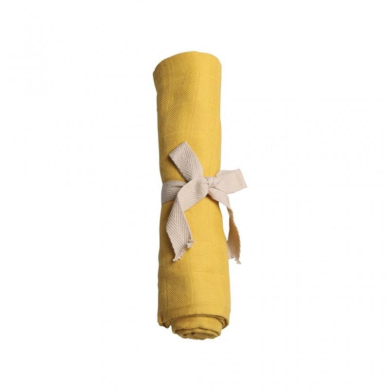 Filibabba Muslin Diaper Solid Lemon