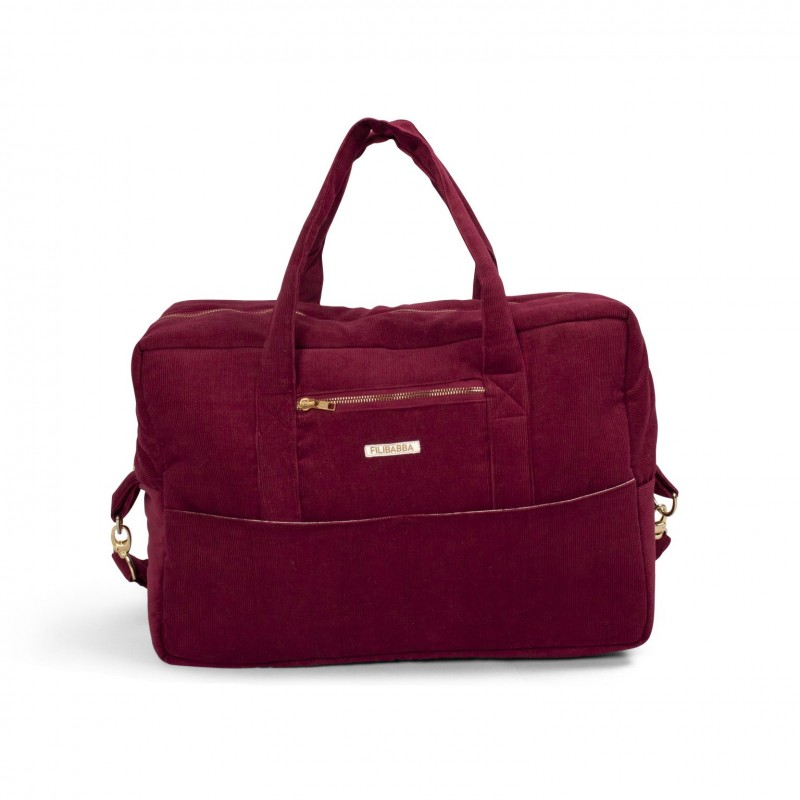Filibabba Mommy  Bag Corduroy Deeply Red