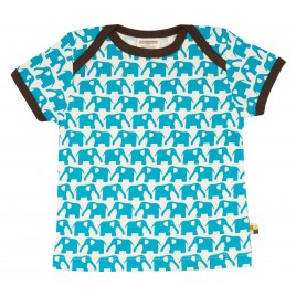 Loud and Proud T-Shirt olifant km aqua