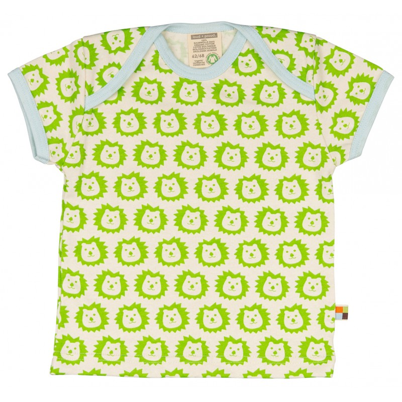 Loud&Proud T-Shirt leeuw km lime