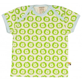 Loud and Proud T-Shirt leeuw km lime