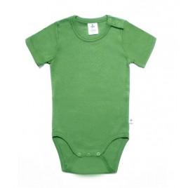 Leela Cotton Kurzarmbody waldgrün