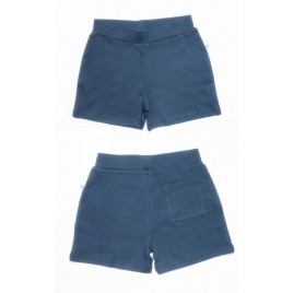 Leela Cotton Shorty indigo