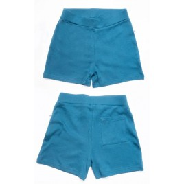 Leela Cotton Shorty donaublau