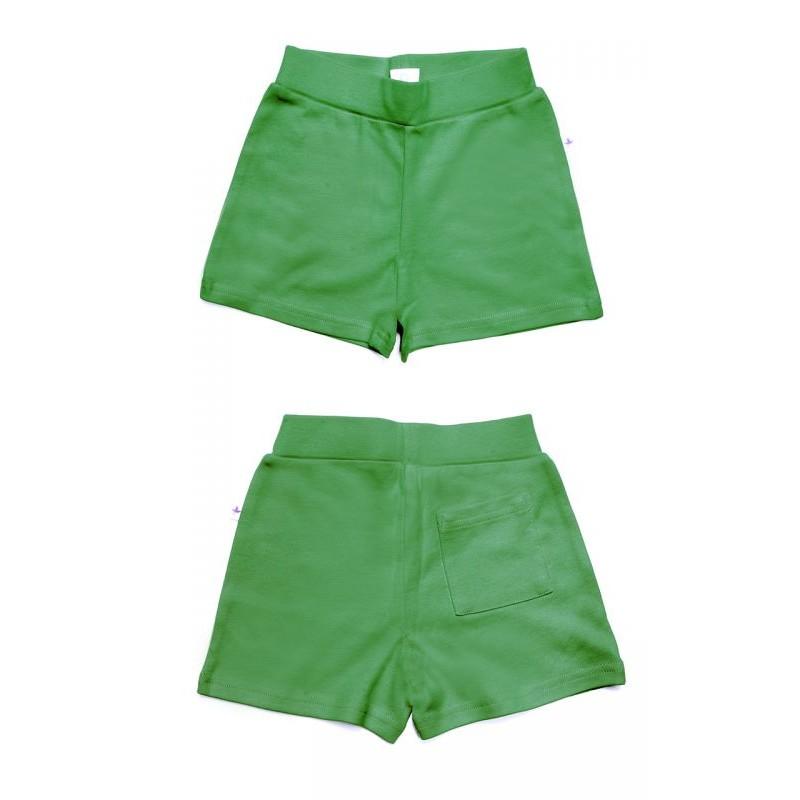 Leela Cotton Shorty waldgrün