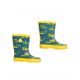 Frugi Puddle Buster Wellington Boots Dig A Rainbow