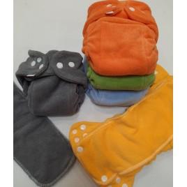 Popolini Newborn MiniSnap Soft Rainbow set/5