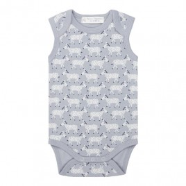 Sense Organics Yaro Retro Baby Body Sleeveless Zebra