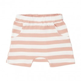 Sense Organics Emilio Retro Shorts Coral Stripes