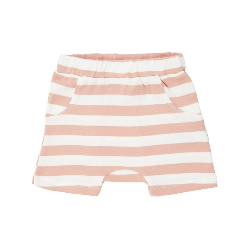 Sense Organics Emilio Retro Shorts Coral Stripes