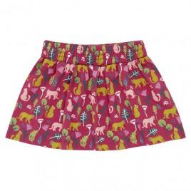 Sense Organics Malia Skirt Floral Leopard