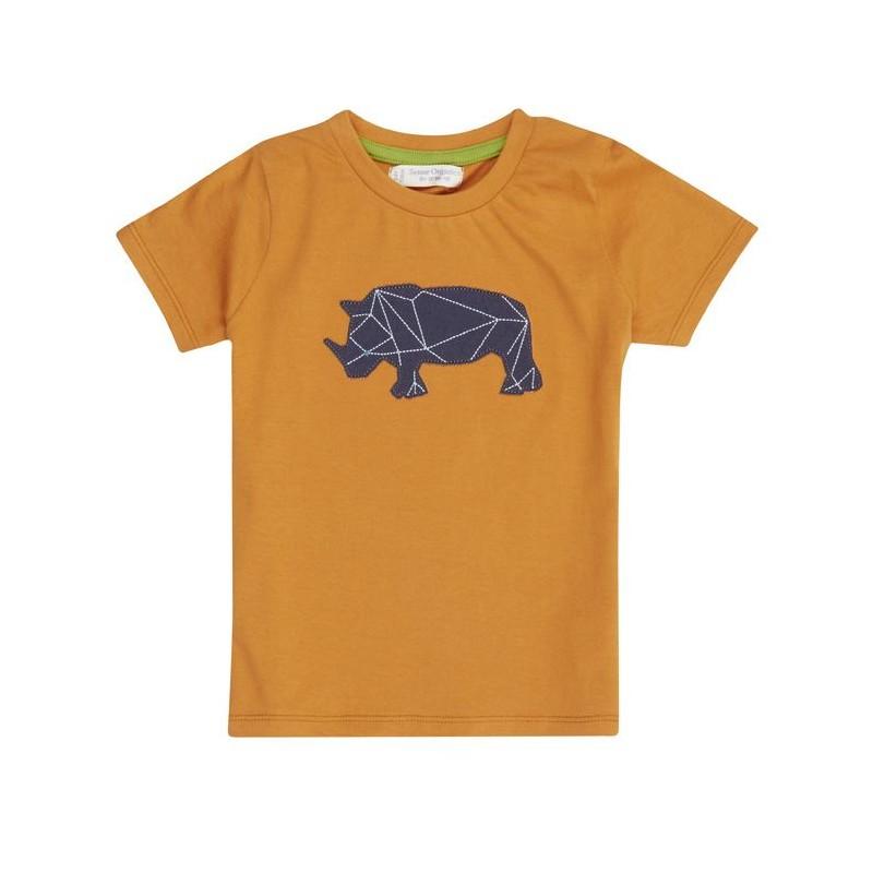 Sense Organics Ibon Shirt S/S Orange + rhino