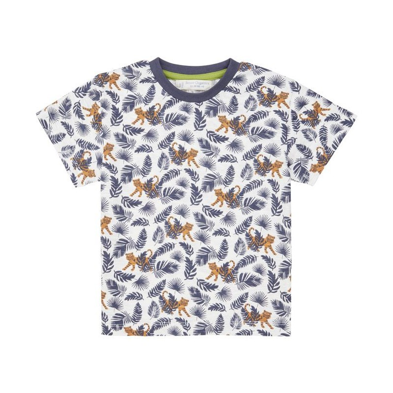 Sense Organics Jannis  Shirt S/S Tiger