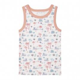 Sense Organics Dana Retro Vest Palm Tree