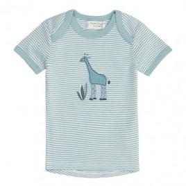 Sense Organics Tilly Baby Shirt S/S Light Teal + Giraffe