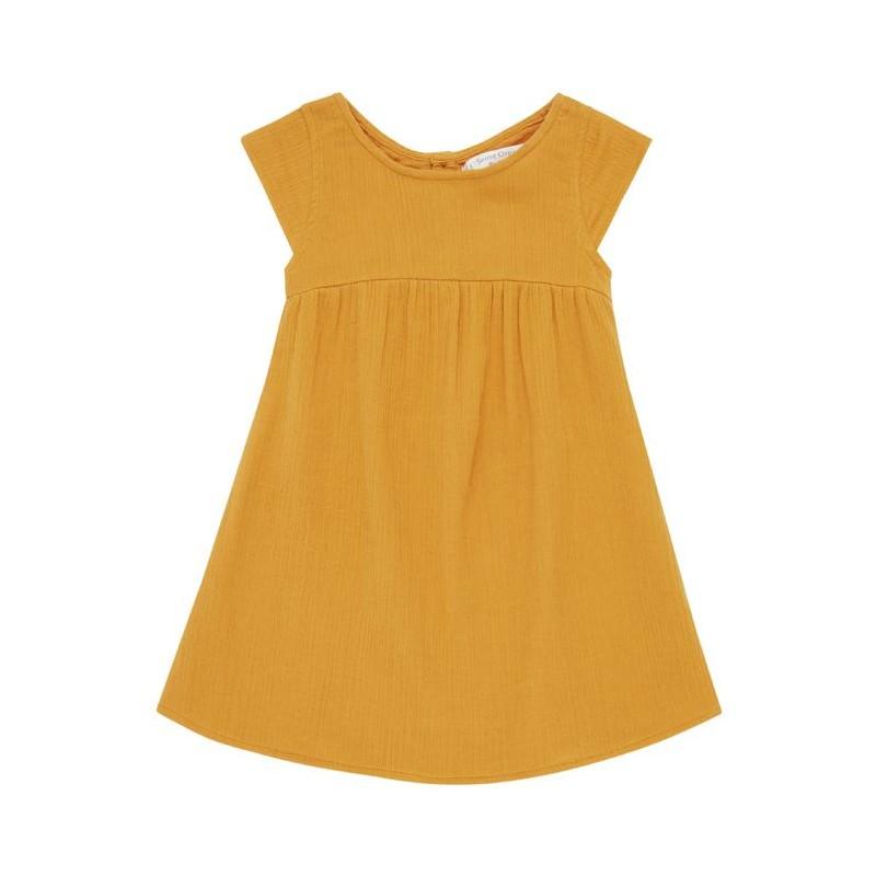 Sense Organics Neela  Dress orange