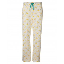 Frugi Pansy PJ Bottoms Soft Wine Runner Ducks