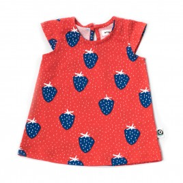 Onnolulu Dress Kika Strawberry