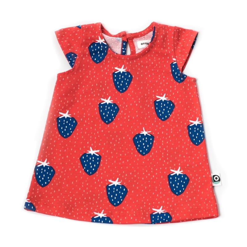 Onnolulu Dress Kika Strawberry