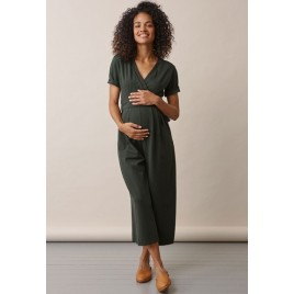 Boob Amelia Jumpsuit deep green