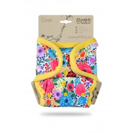 Petit Lulu One Size Cover (Snaps) Blooming garden