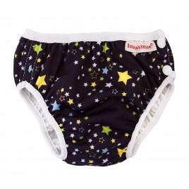 Imse Vimse Swim Diaper M.Black Star
