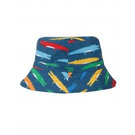 Frugi Harbour Swim Hat  Rainbow Crocs