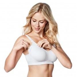 Bravado Body Silk Seamless Nursing Bra white