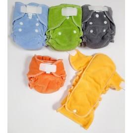Popolini Newborn MiniFit Soft Rainbow set/5
