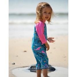 Frugi Little Sun Safe Suit Bengal Bay